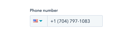 Connect Mobile Phone Number in HubSpot Profile