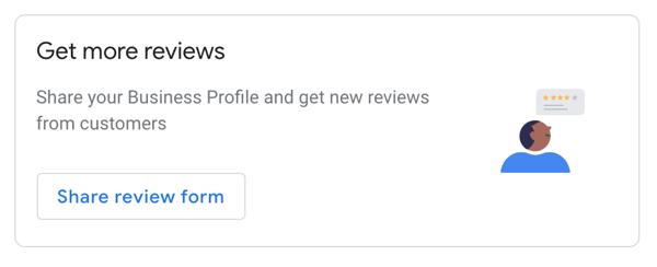 Google Reviews Get more reviews link