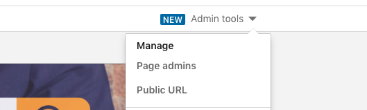 Step 2 adding new admin to LinkedIn company page